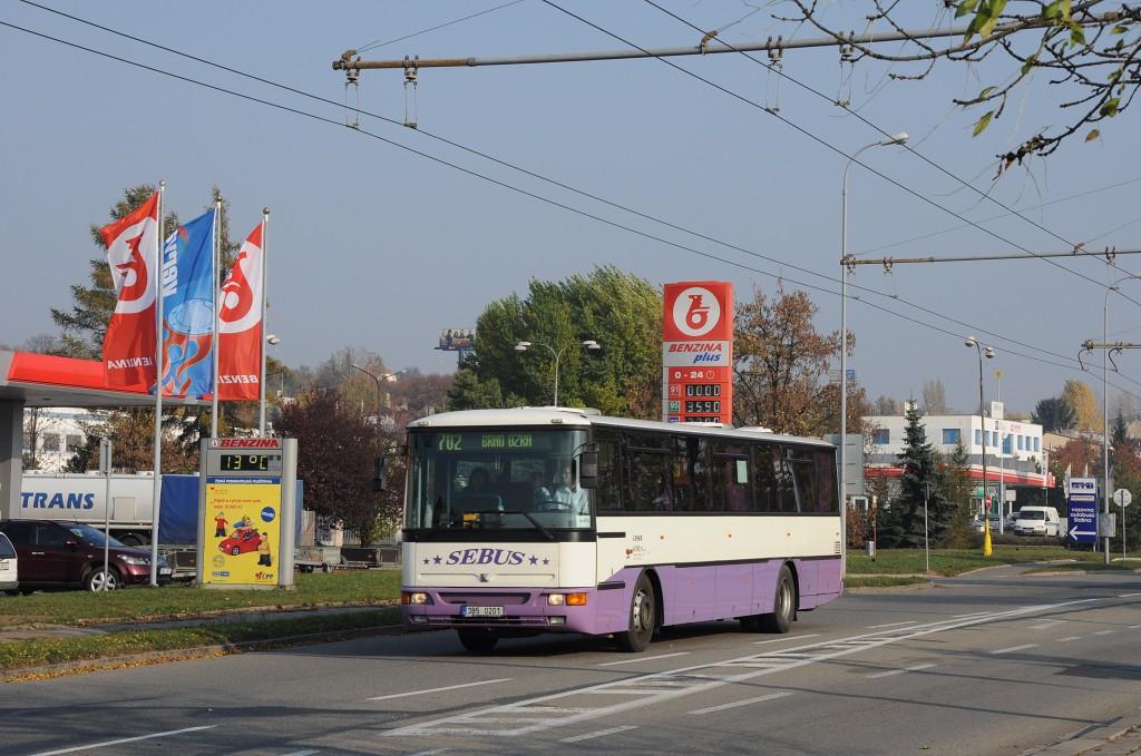 Fotogalerie » Karosa C954E.1360 3B5 0201 | Brno | Slatina | Hviezdoslavova