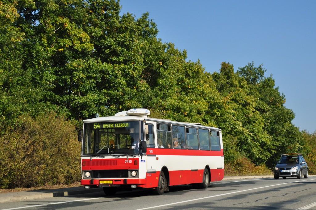 Fotogalerie » Karosa B731.1669 BSC 69-03 7415 | Brno | Bystrc | Vejrostova