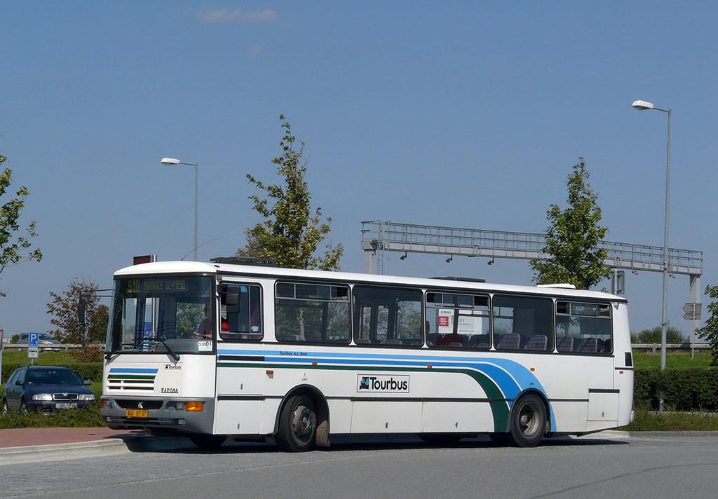 Fotogalerie » Karosa C934E.1351 BSE 97-07 | Modřice | U Dálnice | Modřice, Olympia