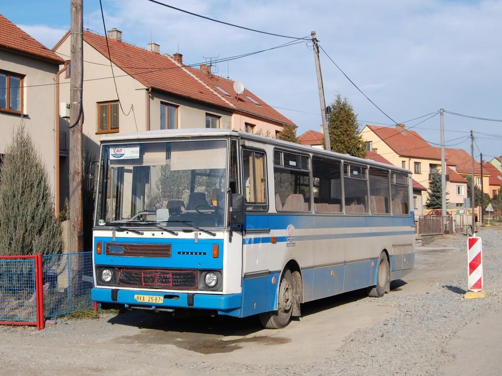 Fotogalerie » Karosa C734 BKA 25-87 | Březina | Březina, sokolovna