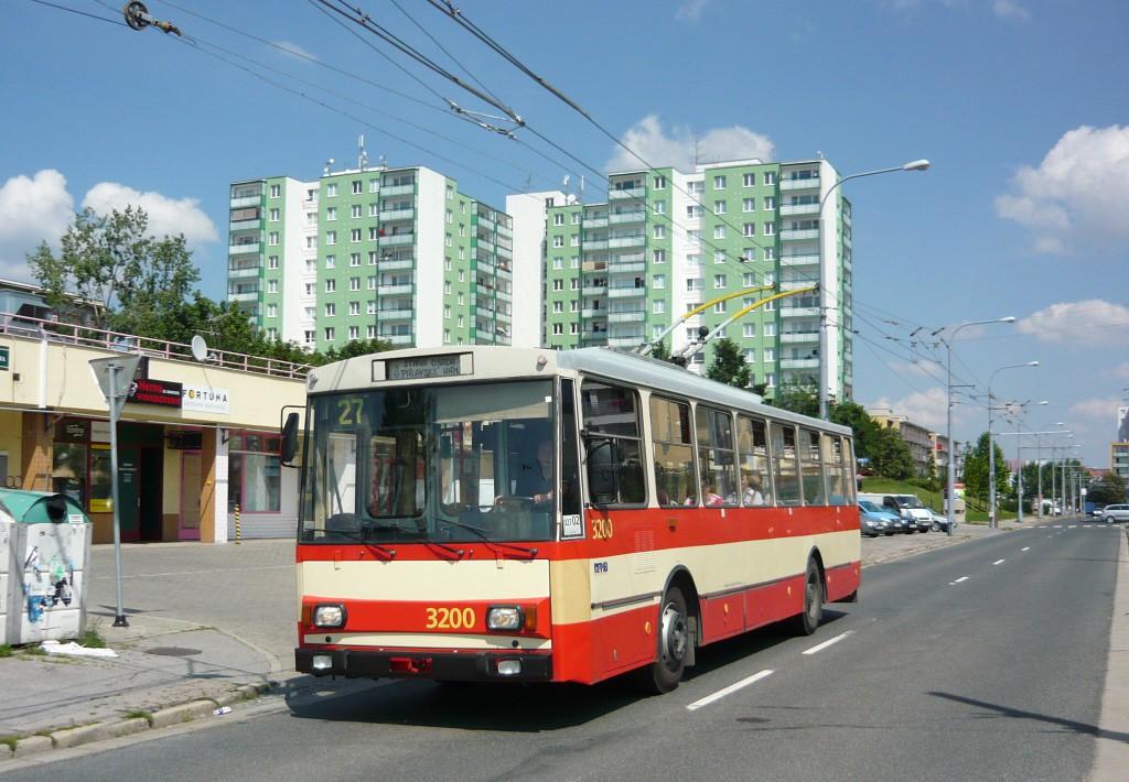 Fotogalerie » Škoda 14Tr07 3200 | Brno | Vinohrady | Tvrdonická