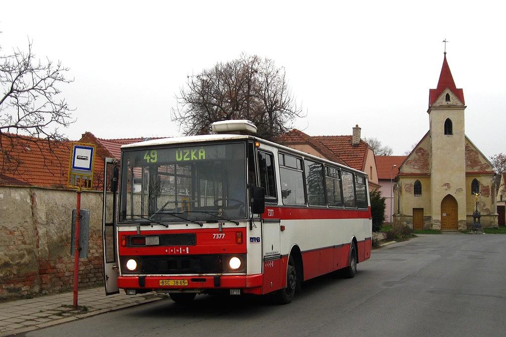 Fotogalerie » Karosa B732.1654.3 BSC 38-65 7377 | Brno | Přízřenice | Staré náměstí | Přízřenice, smyčka
