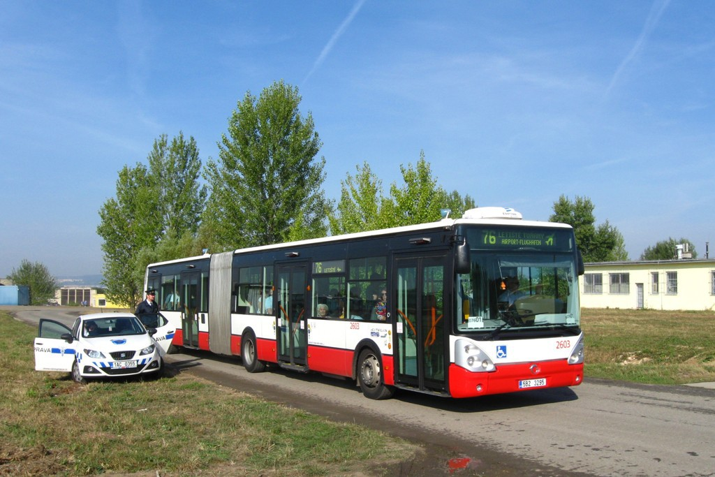 Fotogalerie » Irisbus Citelis 18M 5B2 3295 2603 | Brno | Tuřany | Letiště Tuřany