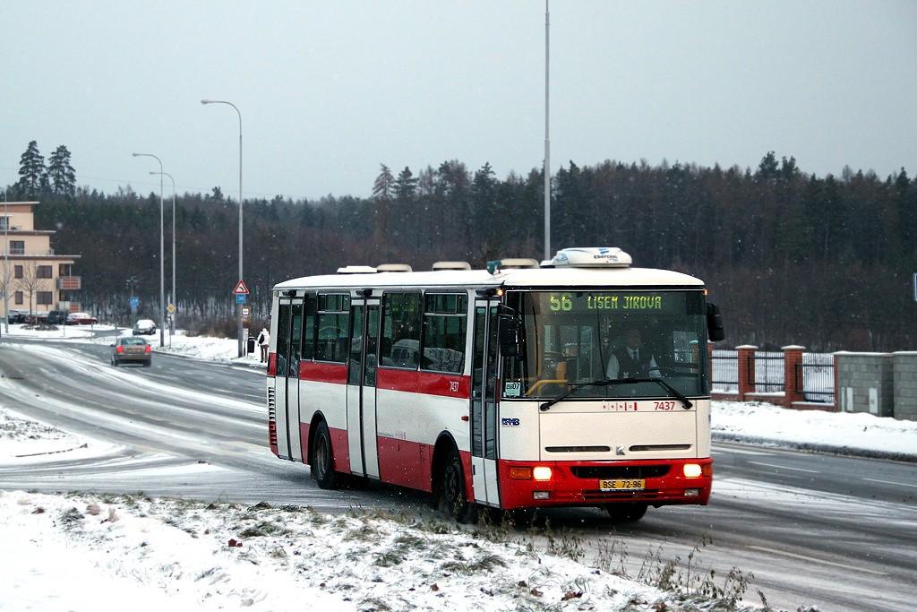 Fotogalerie » Karosa B931.1675 BSE 72-96 7437 | Brno | Líšeň | Molákova