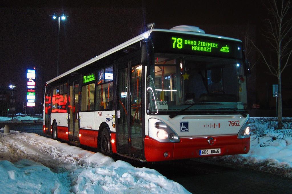 Fotogalerie » Irisbus Citelis 12M 6B6 6846 7662 | Modřice | U Dálnice | Modřice, Olympia