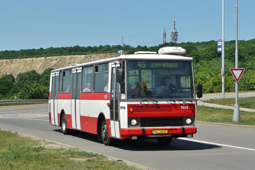 Fotogalerie » Karosa B731.1669 BSC 69-03 7415 | Brno | Líšeň | Podruhova | Horníkova