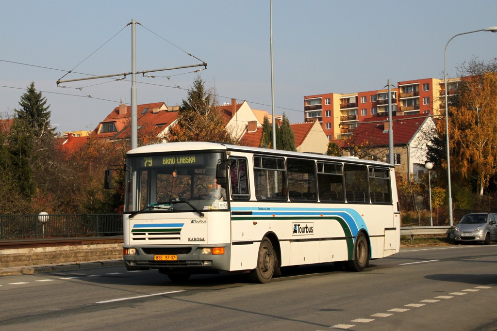 Fotogalerie » Karosa C934E.1351 BSE 97-07 | Brno | Bohunice | Dlouhá | Běloruská