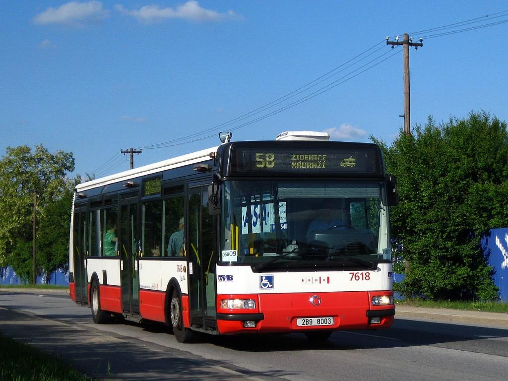 Fotogalerie » Irisbus Citybus 12M 2071.40 2B9 8003 7618 | Brno | Líšeň | Křtinská