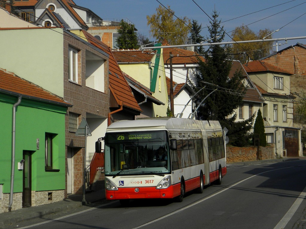 Fotogalerie » Škoda 25Tr Citelis 1B 3617 | Brno | Nový Lískovec | Rybnická