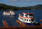 Areál lodní dopravy na přehradě