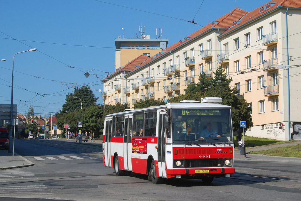 Fotogalerie » Karosa B732.1654.3 BSC 38-66 7378 | Brno | Královo Pole | Kosmova