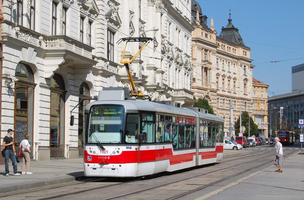 Fotogalerie » Pragoimex VarioLF2R.E 1101 | Brno | střed | Malinovského náměstí | Malinovského náměstí