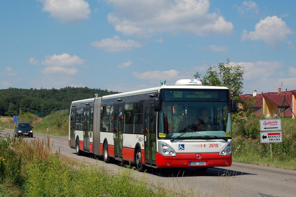 Fotogalerie » Irisbus Citelis 18M 6B2 2460 2618 | Popůvky | Jihlavská