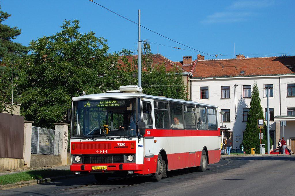 Fotogalerie » Karosa B732.1654.3 BSC 39-52 7380   Brno   Masarykova Čtvrť   náměstí Míru