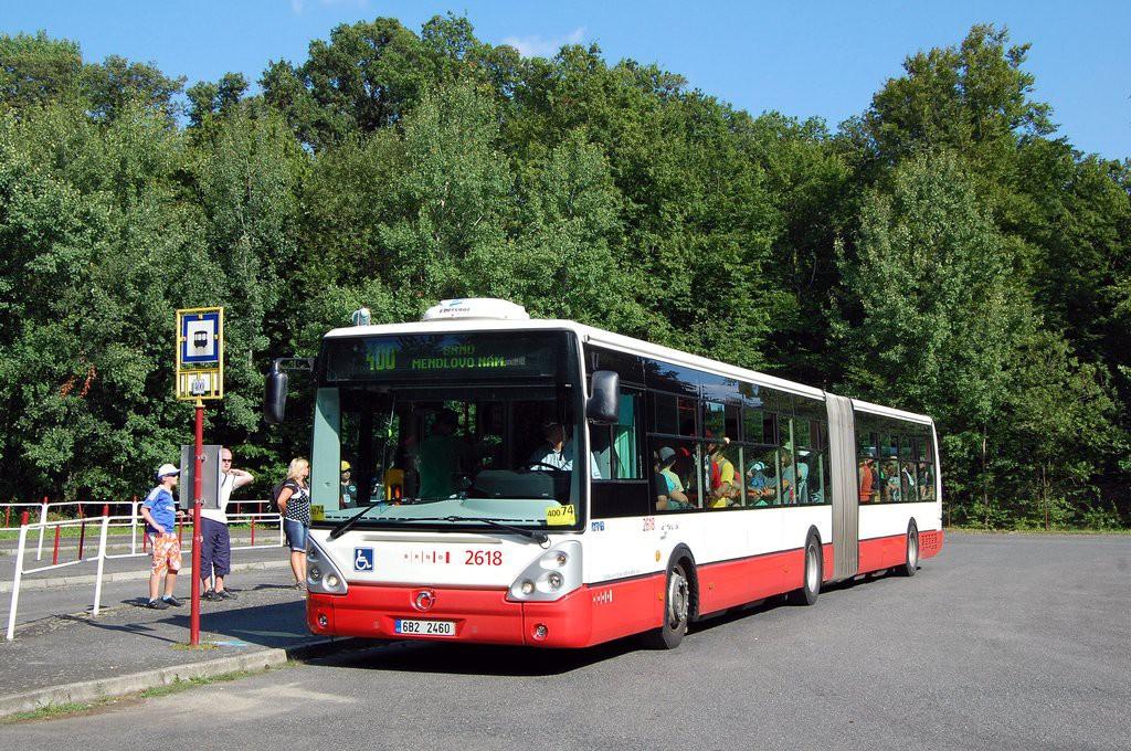 Fotogalerie » Irisbus Citelis 18M 6B2 2460 2618 | Ostrovačice | Ostrovačice, start