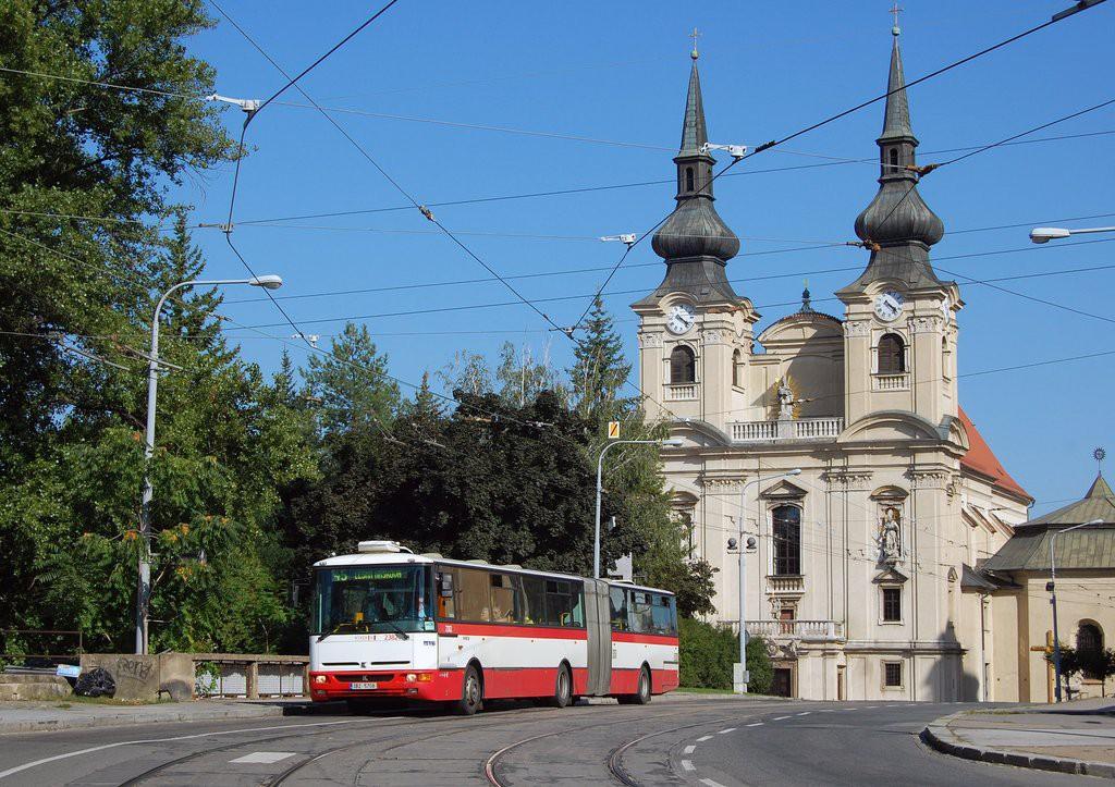 Fotogalerie » Karosa B961E.1970 3B2 5708 2382 | Brno | Zábrdovice | Cejl