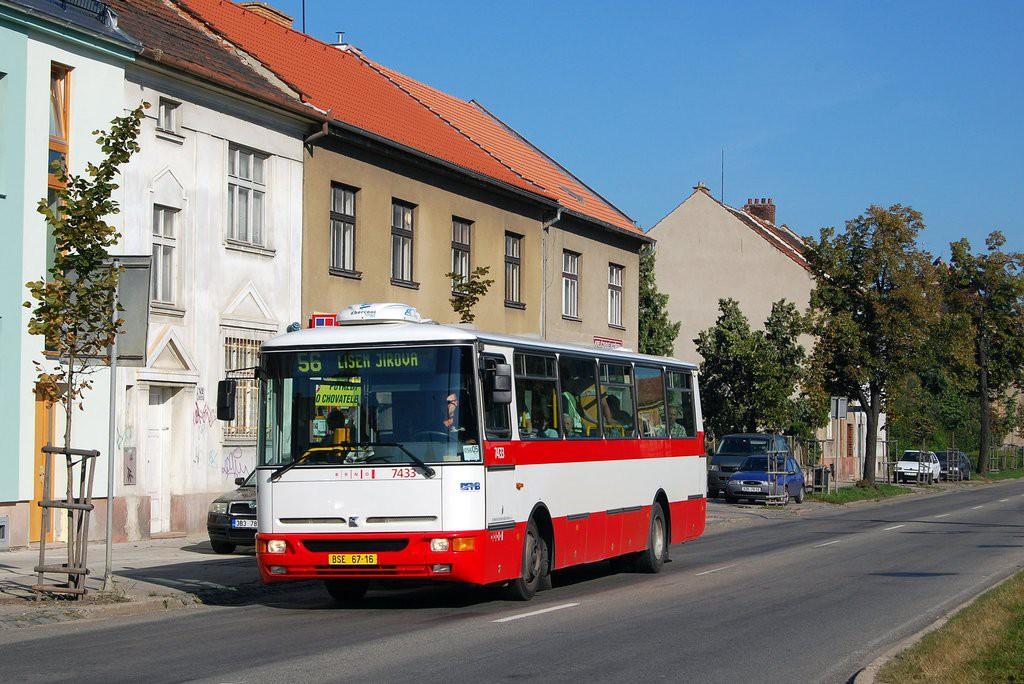 Fotogalerie » Karosa B931.1675 BSE 67-16 7433 | Brno | Židenice | Gajdošova