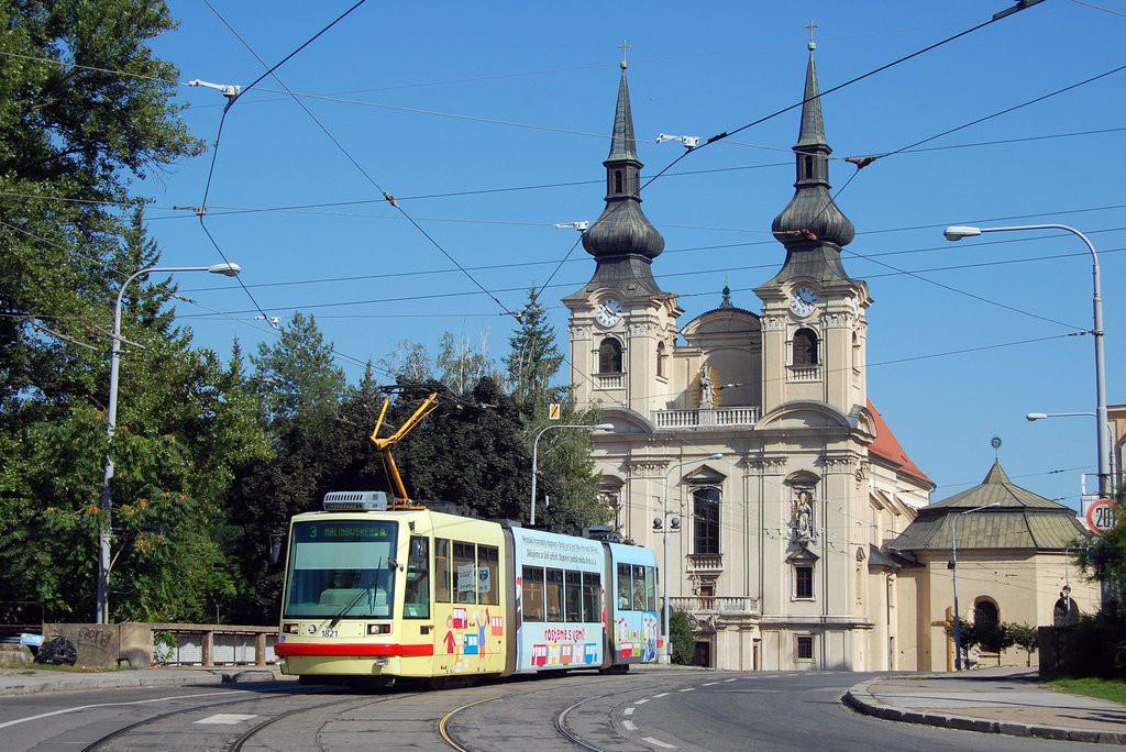 Fotogalerie » Škoda 03T7 1821 | Brno | Zábrdovice | Cejl