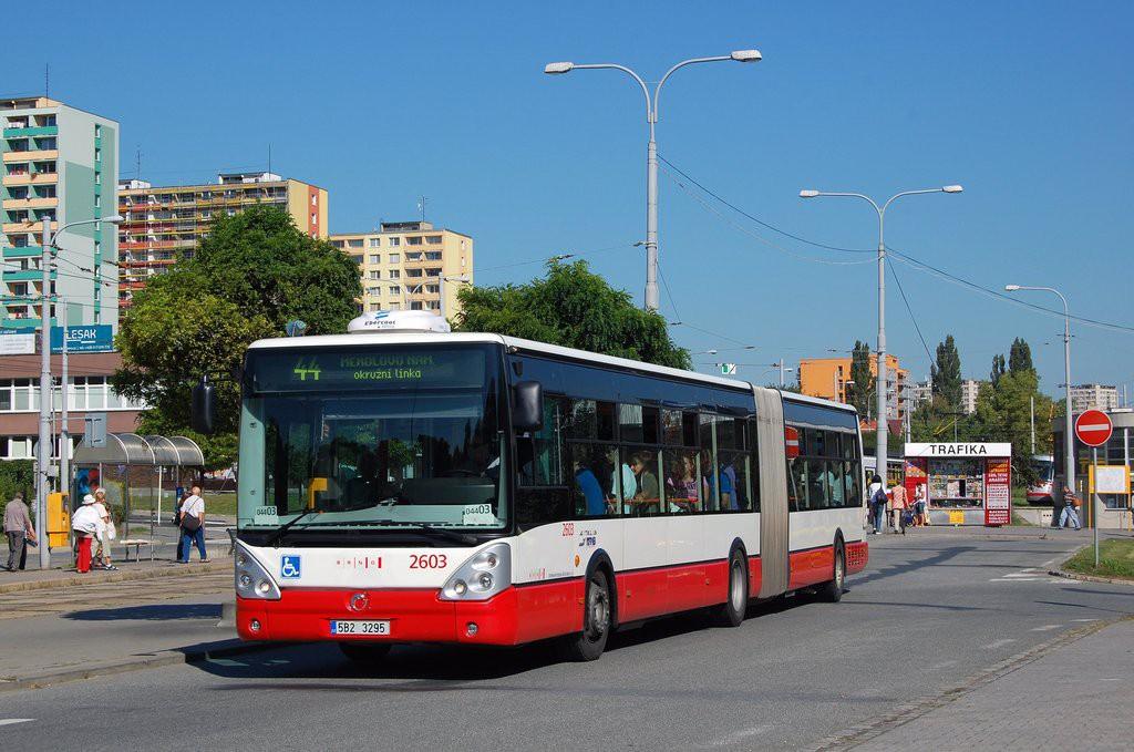Fotogalerie » Irisbus Citelis 18M 5B2 3295 2603 | Brno | Královo Pole | Budovcova