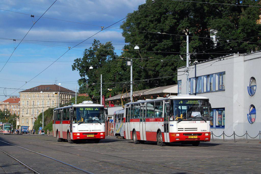 Fotogalerie » Karosa B931E.1707 BSE 94-74 7459 | Karosa B931.1675 BSE 67-18 7435 | Brno | střed | Nádražní