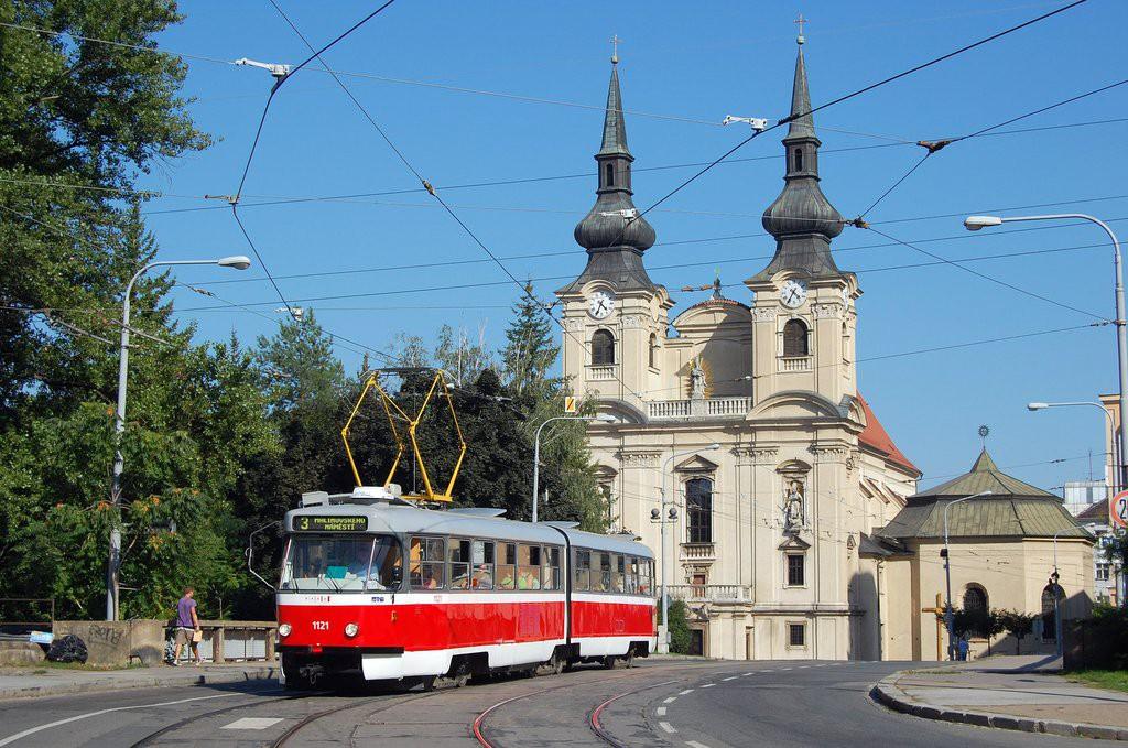 Fotogalerie » ČKD Tatra K2 1121 | Brno | Zábrdovice | Cejl
