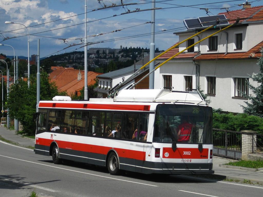 Fotogalerie » Škoda 21Tr 3002 | Brno | Nový Lískovec | Rybnická