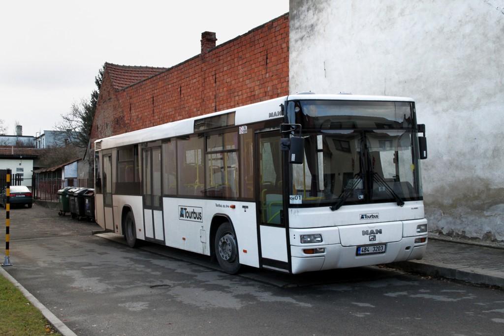 Fotogalerie » MAN Lion´s City T EL 283 4B4 3203 | Radostice | Sokolská | Radostice, sokolovna