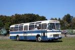 Jeden z vystavených vozů ŠL 11 na loňském srazu ve Vyškově