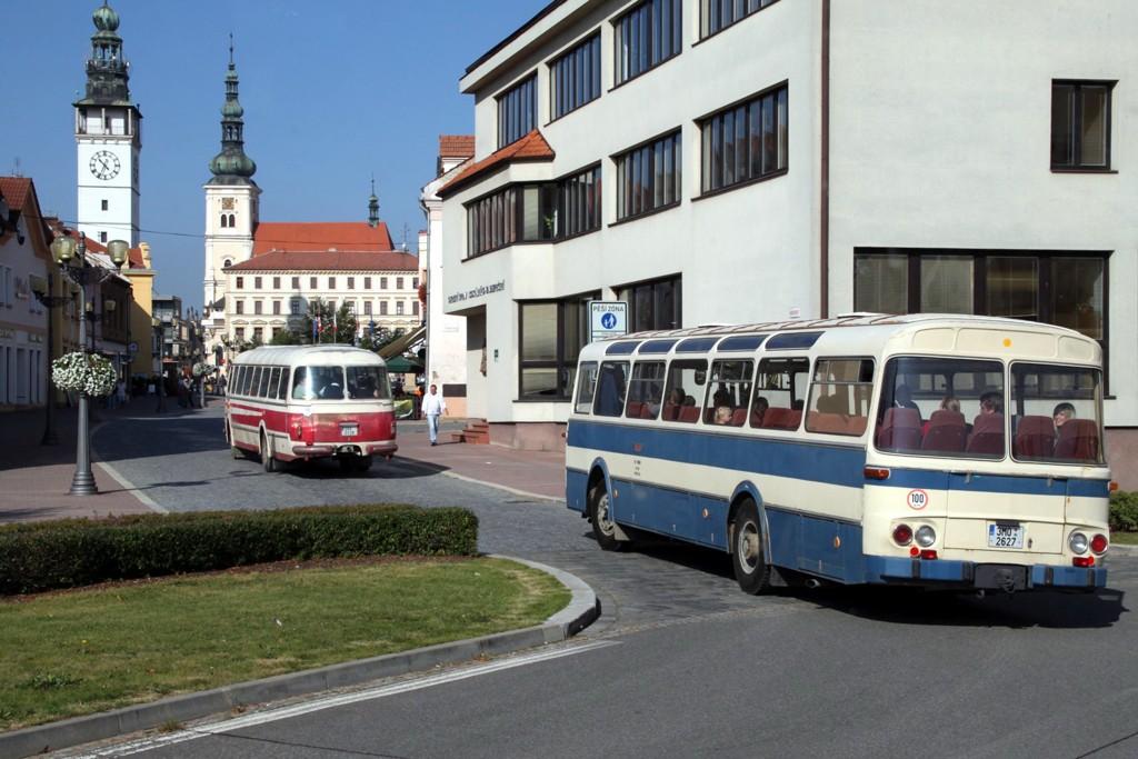 Fotogalerie » Karosa ŠL11-1310 3M0 2627 | Vyškov | Masarykovo náměstí