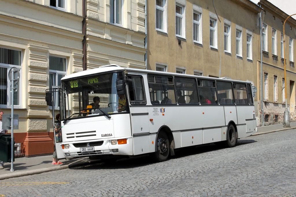 Fotogalerie » Karosa C734.1340 2B3 4448 | Znojmo | Rudoleckého | Autobusové nádraží