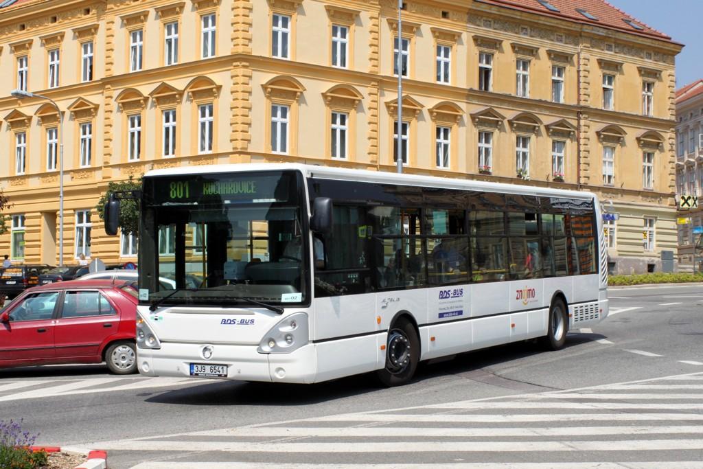 Fotogalerie » Irisbus Citelis 12M 3J9 6541 | Znojmo | Mariánské náměstí | Mariánské náměstí
