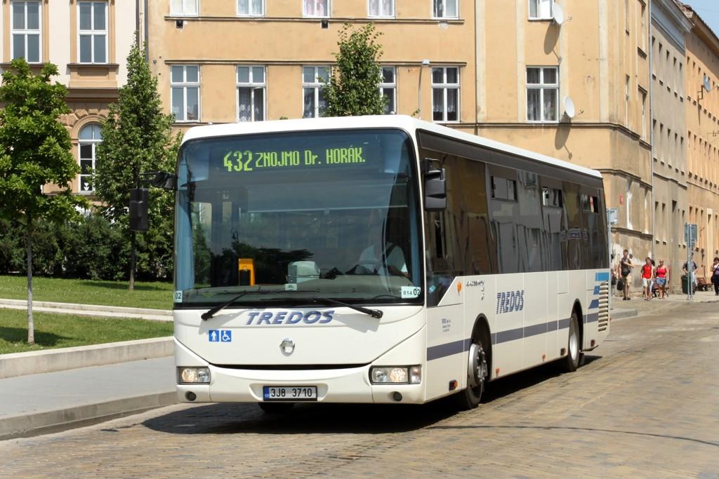 Fotogalerie » Irisbus Crossway LE 12M 3J8 3710   Znojmo   Lidická   Dr. Milady Horákové