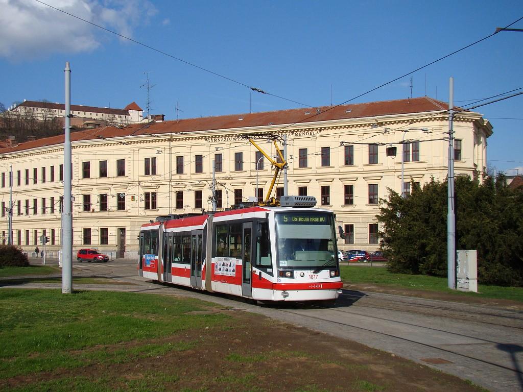 Fotogalerie » Škoda 03T6 1817 | Brno | Staré Brno | Mendlovo náměstí