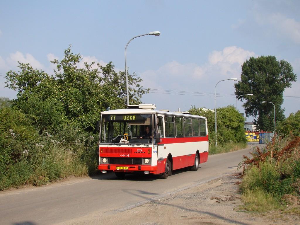 Fotogalerie » Karosa B732.1654.3 BSC 38-61 7373 | Brno | Slatina | Drážní
