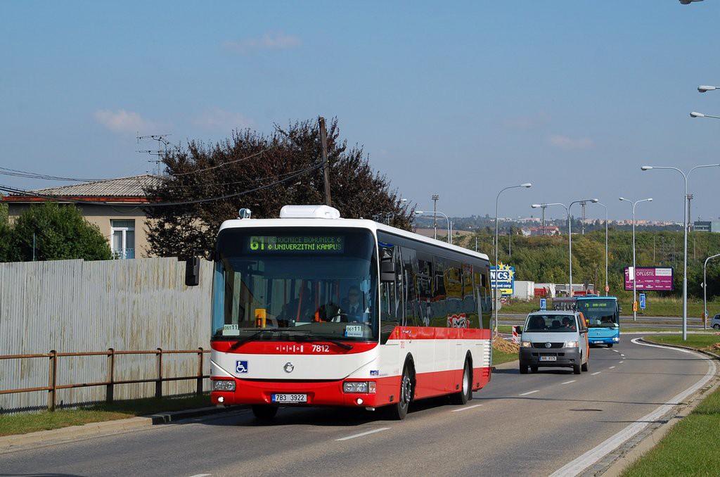 Fotogalerie » Irisbus Crossway LE 12M 7B3 3922 7812 | Brno | Štýřice | Jihlavská