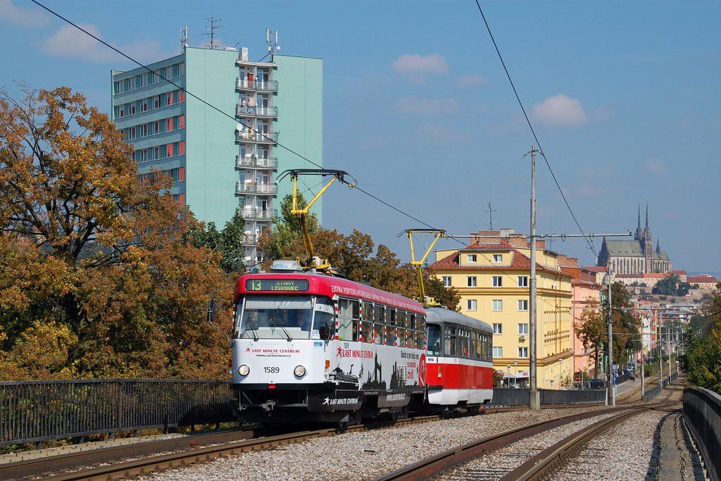 Fotogalerie » ČKD Tatra T3P 1589 | Pragoimex T3R.PV 1558 | Brno | Štýřice