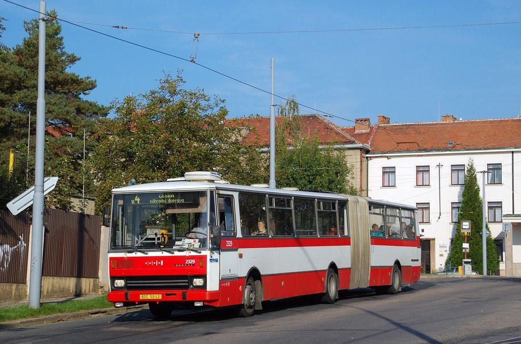 Fotogalerie » Karosa B741.1924 BSC 50-42 2329 | Brno | Masarykova Čtvrť | náměstí Míru