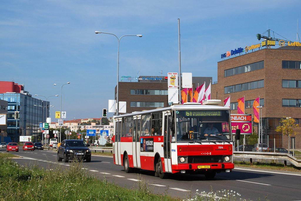 Fotogalerie » Karosa B732.1654.3 BSC 38-62 7374 | Brno | Štýřice | Heršpická