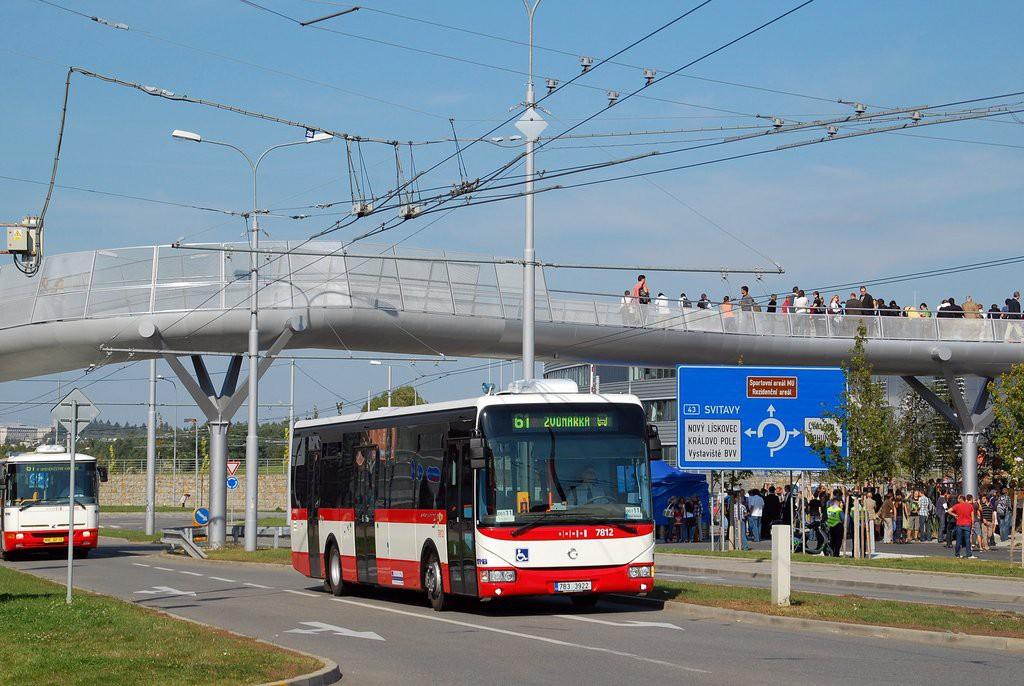 Fotogalerie » Irisbus Crossway LE 12M 7B3 3922 7812 | Brno | Bohunice | Netroufalky
