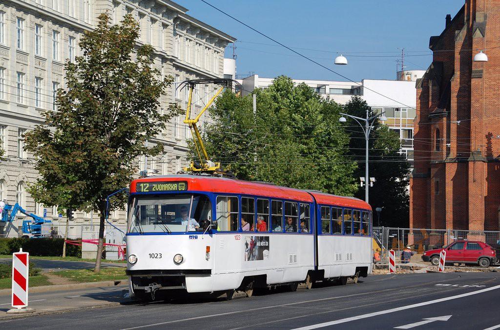 Fotogalerie » ČKD Tatra K2P 1023 | Brno | střed | Komenského náměstí