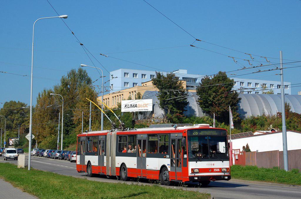 Fotogalerie » Škoda 15TrM 3506 | Brno | Husovice | Provazníkova