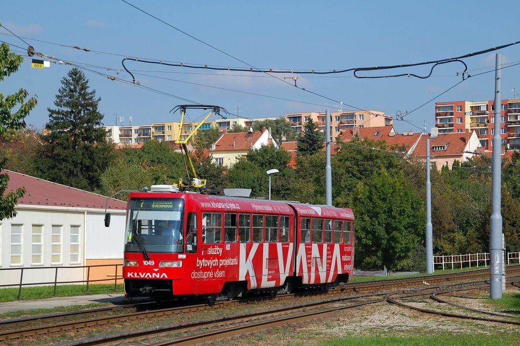 Fotogalerie » ČKD Tatra K2R03-P 1049   Brno   Bohunice
