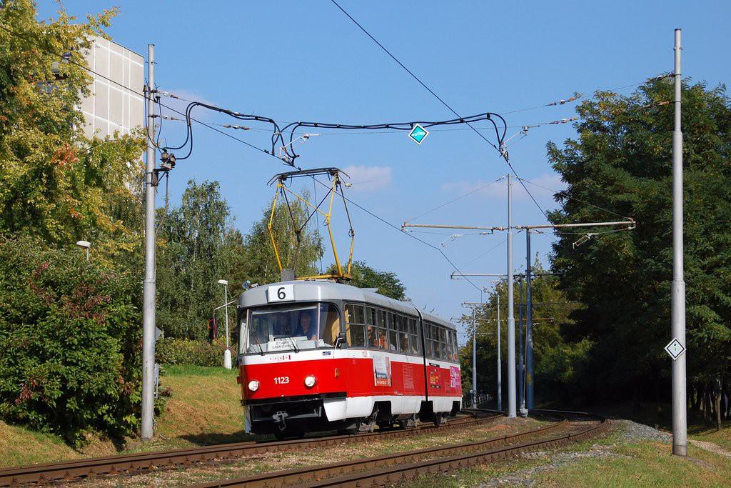 Fotogalerie » ČKD Tatra K2MM 1123 | Brno | Starý Lískovec