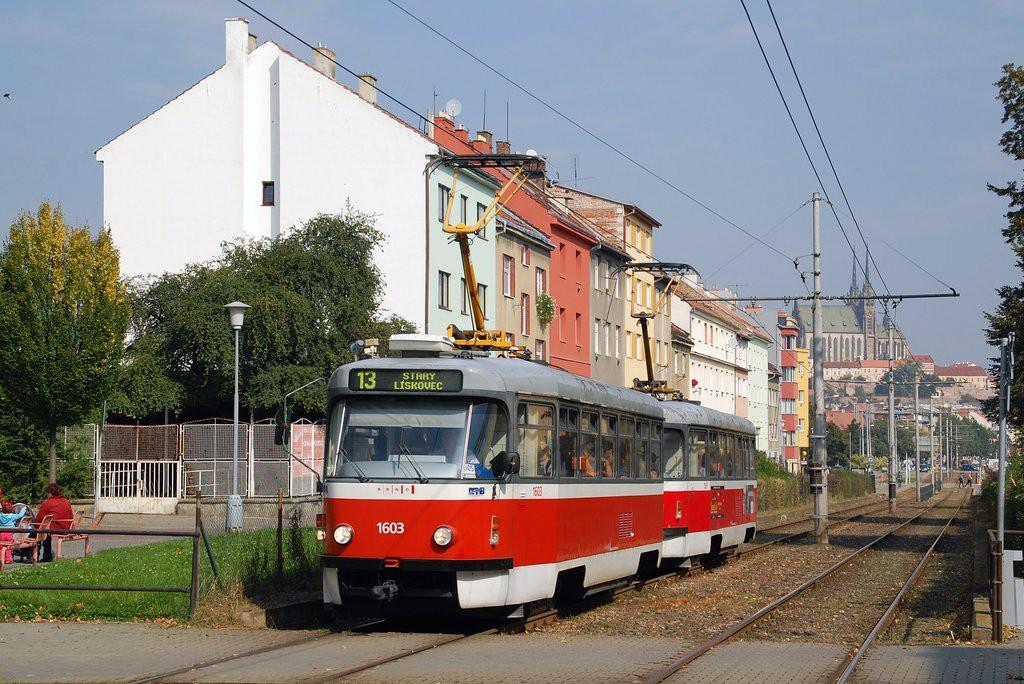 Fotogalerie » Pragoimex T3R.PV 1603 | Pragoimex T3R.PV 1561 | Brno | Štýřice | Renneská
