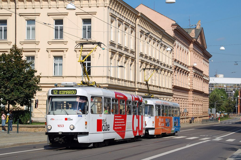 Fotogalerie » Pragoimex T3R.PV 1653 | Pragoimex T3R.PV 1654 | Brno | střed | Husova