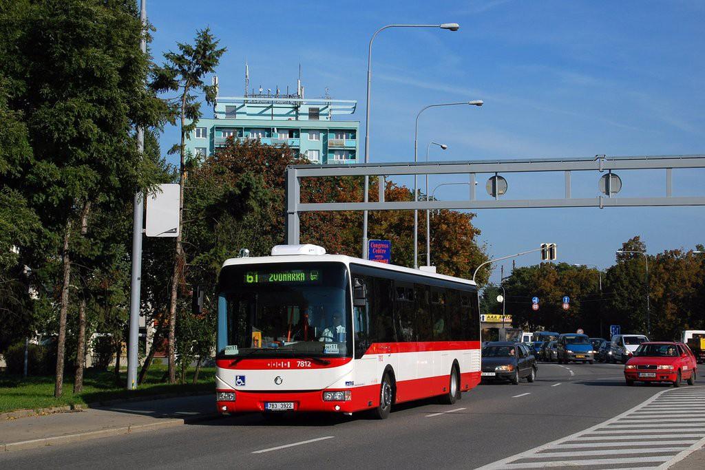 Fotogalerie » Irisbus Crossway LE 12M 7B3 3922 7812 | Brno | Staré Brno | Poříčí