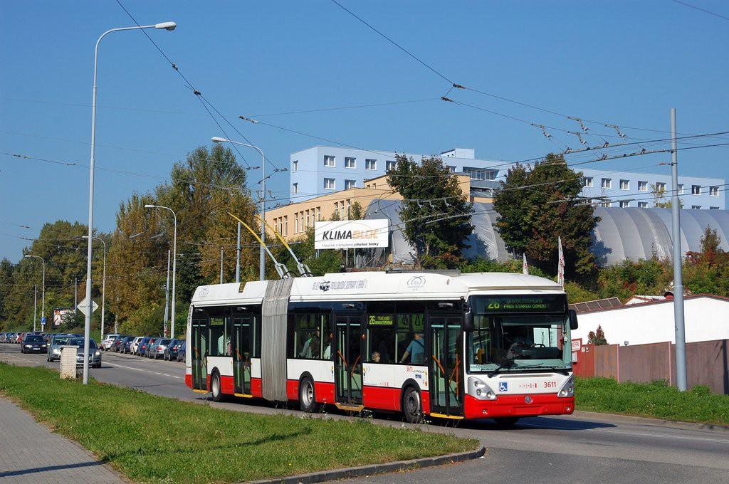 Fotogalerie » Škoda 25Tr Citelis 1B 3611 | Brno | Husovice | Provazníkova
