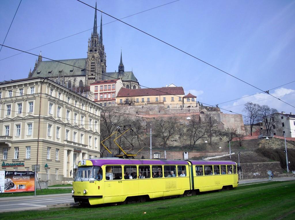 Fotogalerie » ČKD Tatra K2 1078 | Brno | střed | Nové sady
