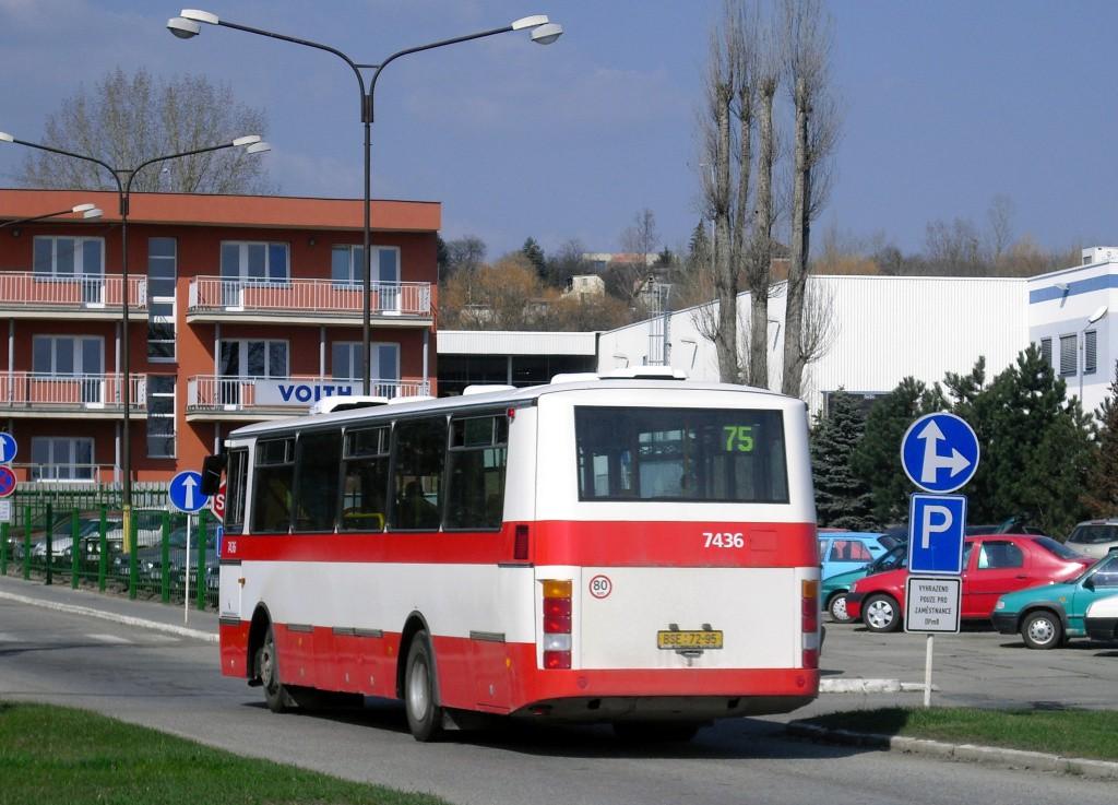 Fotogalerie » Karosa B931.1675 BSE 72-95 7436 | Brno | Slatina | Hviezdoslavova | Vozovna Slatina