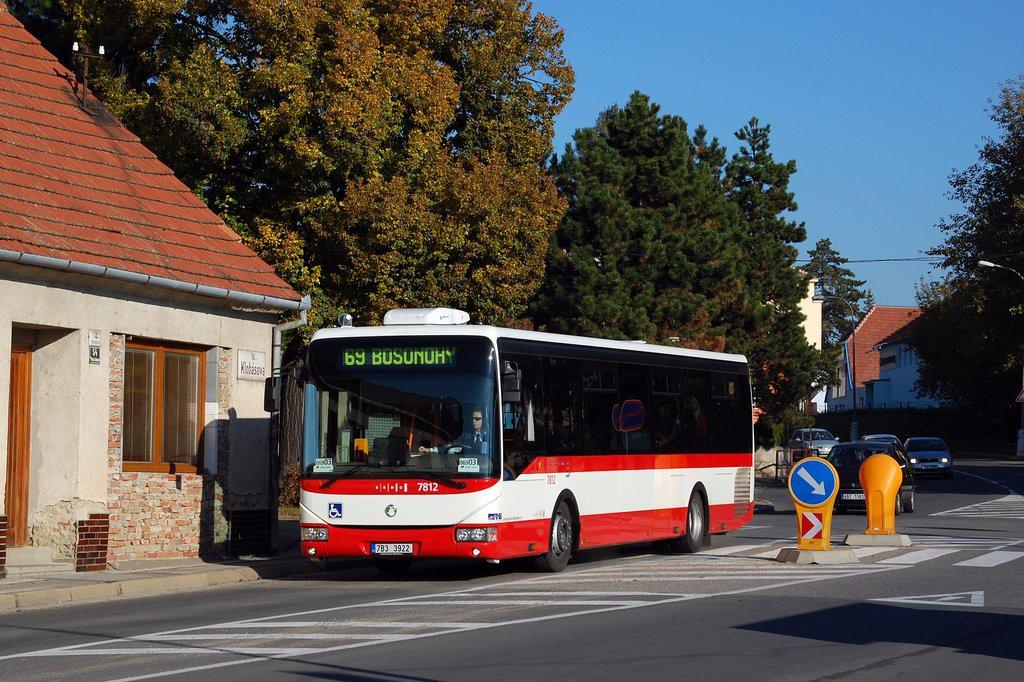 Fotogalerie » Irisbus Crossway LE 12M 7B3 3922 7812 | Brno | Starý Lískovec | Klobásova